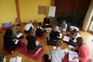 Zenways course - class with students