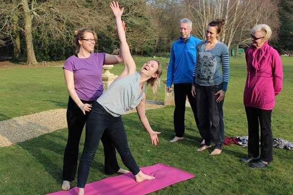 Yoga teacher training at Zenways